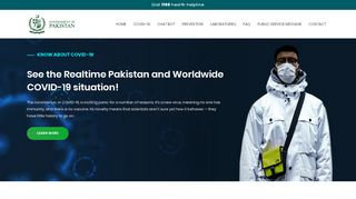 Realtime Pakistan and Worldwide COVID-19 situation
