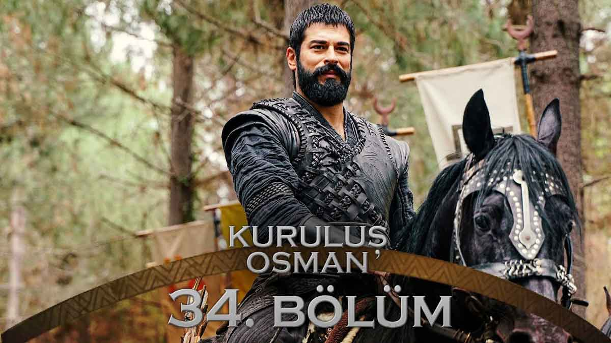 Kurulus Osman Bolum 34 Season 2 Episode 7 Urdu Subtitles