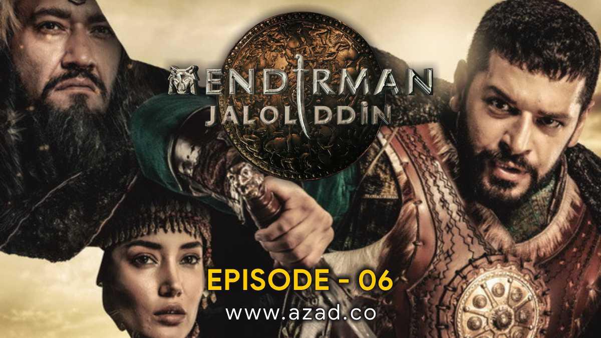 Mendirman Jaloliddin Jalaluddin Khwarazm Shah Episode 6 Urdu Subtitles