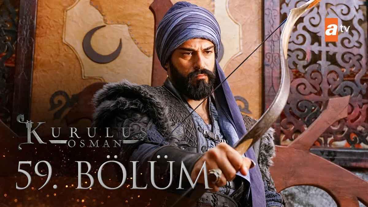 Kurulus Osman Bolum 59 Season 2 Episode 32 Urdu Subtitles