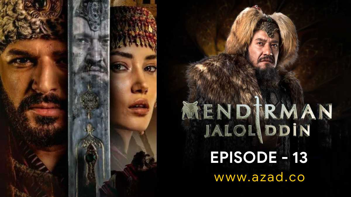 Mendirman Jaloliddin Jalaluddin Khwarazm Shah Episode 13 Urdu Subtitles 1