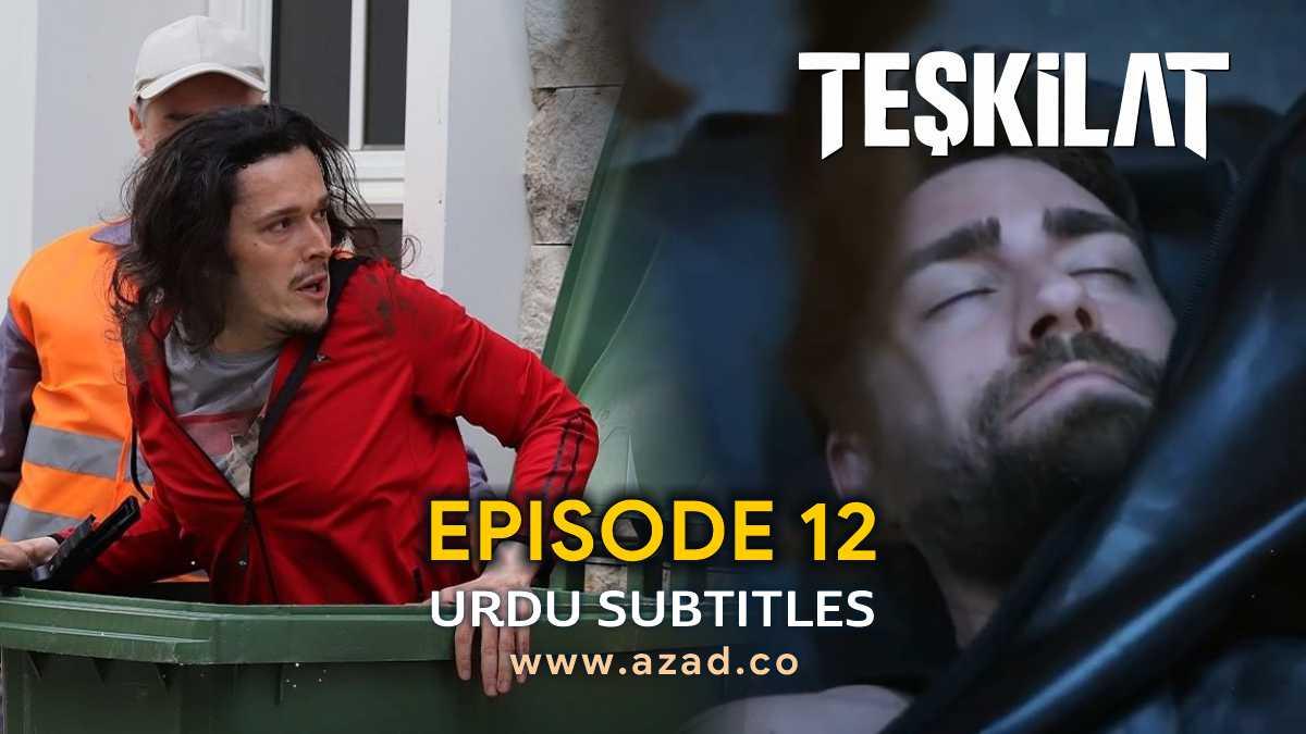 Teskilat Episode 12 Urdu Subtitles