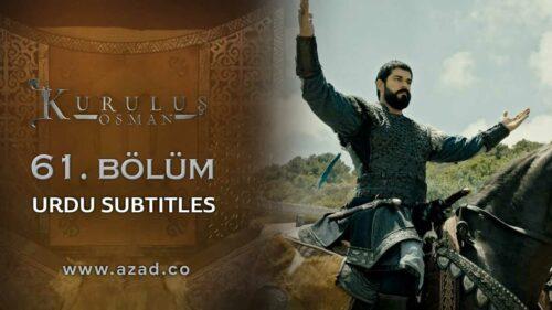 Kurulus Osman Bolum 61 Season 2 Episode 34 Urdu Subtitles