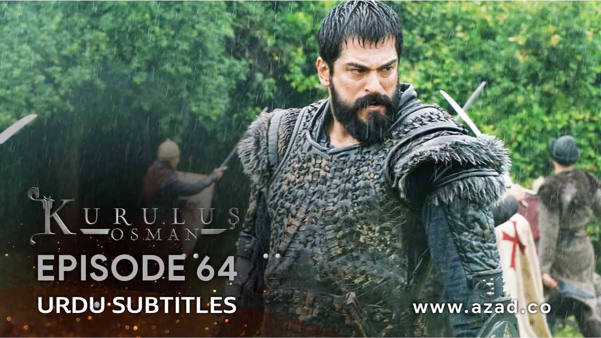 Kurulus Osman Bolum 64 Season 2 Episode 37 Urdu Subtitles