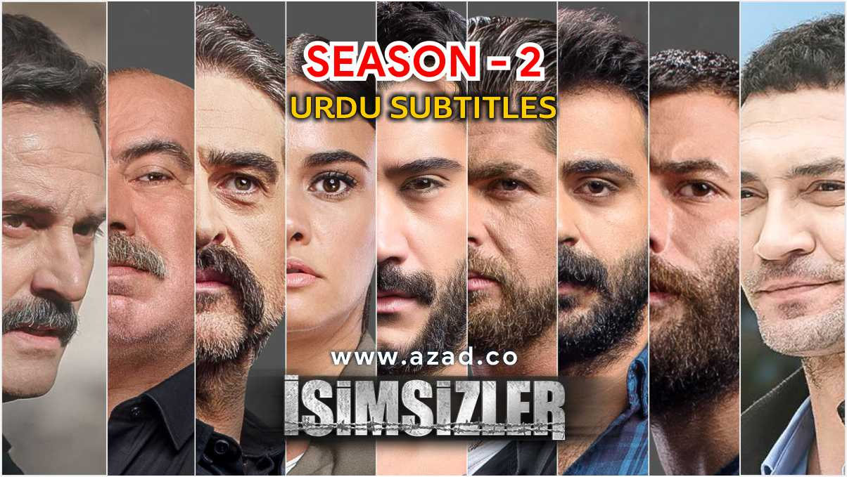 Isimsizler Nameless Season 2 Urdu Subtitles