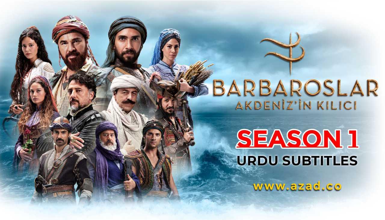 Barbaros Season 1 Urdu Subtitles