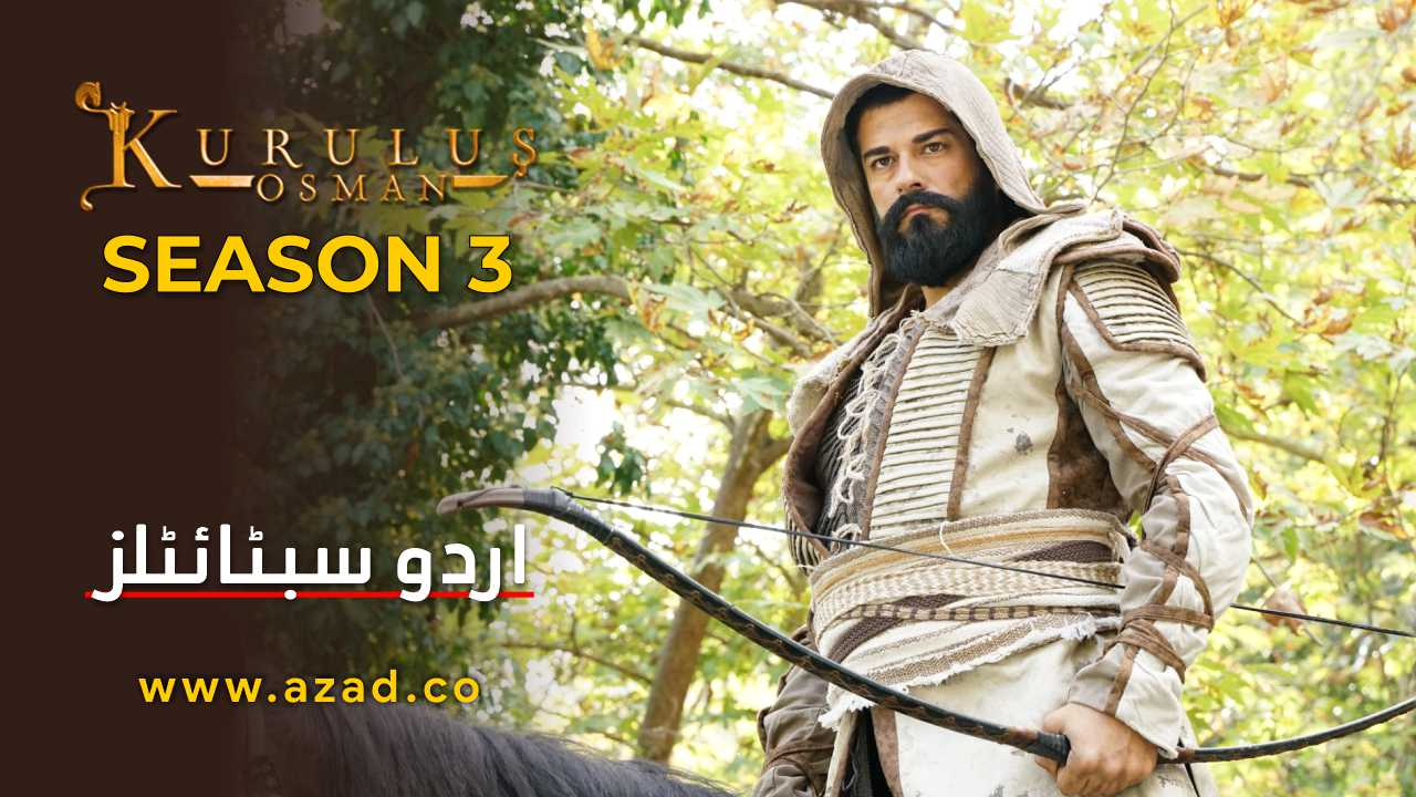 Kurulus Osman Season 3 Urdu Subtitles
